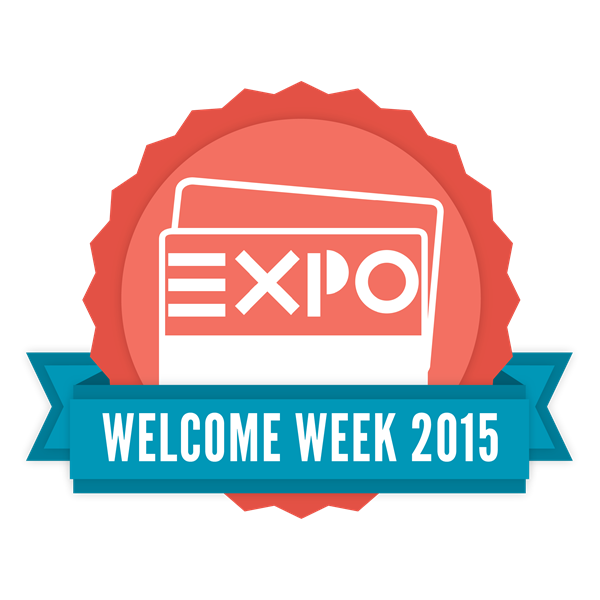 Honors EXPO: Welcome Week 2015